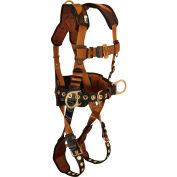 FallTech® 7081LX ComforTech® 3-D Full Body Harness, 3 D-rings, Size L/XL