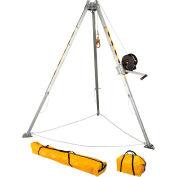 FallTech® 7507 Adjustable 8' Aluminum Confined Space Tripod Kit