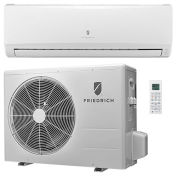Friedrich Ductless Split System With Heat Pump MM09YJ - 9,000 BTU, 16 SEER, 115V