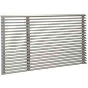 Friedrich Uni-Fit® UXAA, Outdoor Architectural Louve- Clear Anodized, Extruded Aluminum