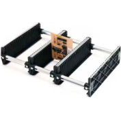 "Fancort Karry-All Model 76 Adjustable Conductive Small PCB Rack, 21""W x 13-1/4""D x 4""H"