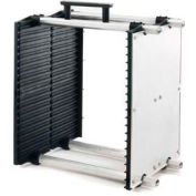 "Fancort Karry-All Model 79 Adjustable Conductive Medium PCB Rack, 21""W x 11""D x 15-1/4""H"