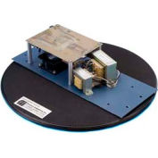 "Fancort Industries™ D500 20"" Dia. ESD Turntable 200 Lb. Cap."