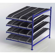 """UNEX FC99SKW60844-A Flow Cell Presentation Gravity Rack Add-On, 60""""W x 84""""D x 72""""H"""