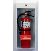 Classic Series Surface Mounted Extinguisher Cabinet, 10 Lb. Capacity
