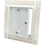 The Williams Brothers AP 510 12X12 Steel Recessed for Plaster Access Door, Cam Latch