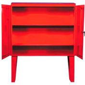 "Outdoor Weatherproof Hose Storage Cabinet W/36"" Legs"