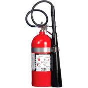 CO2 Carbon Dioxide Fire Extinguisher 10 Lb. W/Standard Bracket