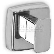 A&J Washroom Robe Hook UX110-BF, Single, Bright, Surface Mounted