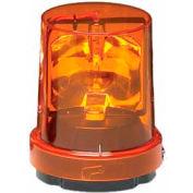 Federal Signal 121S-120A Rotating light, 120VAC, Amber