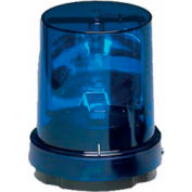 Federal Signal 121S-120B Rotating light, 120VAC, Blue