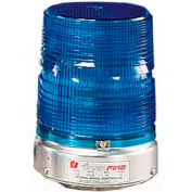 Federal Signal 131DST-120B Strobe double, 120VAC, Blue