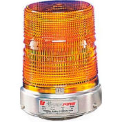 Federal Signal 131ST-120A Strobe, 120VAC, Pipe Mount, Amber