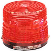 Federal Signal 141ST-024R Strobe light, 24VDC, Red
