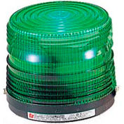 Federal Signal 141ST-120G Strobe light, 120VAC, Green