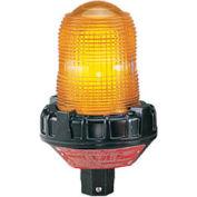 Federal Signal 191XL-024A Flashing light, LED, 24VAC/DC, hazardous location, Amber
