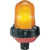 Federal Signal 191XL-120-240A Flashing light, LED, 120-240VAC, hazard location Amber