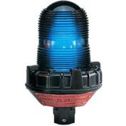 Federal Signal 191XL-120-240B Flashing light LED 120-240VAC hazardous location Blue