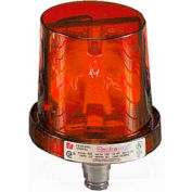 Federal Signal 225-120R Rotating Light, 120VAC, Red