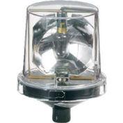 Federal Signal 225X-120C Rotating Light, 120VAC, Hazardous Location, Clear