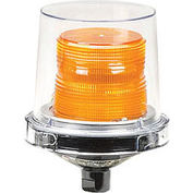 Federal Signal 225XL-024A Flashing LED light, hazardous location, 24VAC/DC, Amber