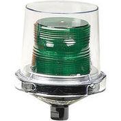 Federal Signal 225XL-120-240G Flashing LED light, hazardous location, 120-240VAC, Gr