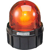 Federal Signal 371LED-120R Rotating LED light, 120VAC, Red