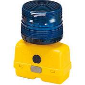 Federal Signal BPL26ST-B Strobe light, battery-poweRed 12VDC, Blue