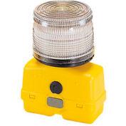 Federal Signal BPL26ST-C Strobe light, battery-poweRed 12VDC, Clear