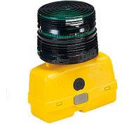 Federal Signal BPL26ST-G Strobe light, battery-poweRed 12VDC, Green