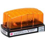 Federal Signal LP1-024A Strobe, 24VDC, Amber