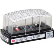 Federal Signal LP1-120C Strobe, 120VAC, Clear