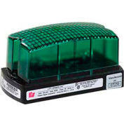 Federal Signal LP1-120G Strobe, 120VAC, Green