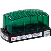 Federal Signal LP1-120G Strobe, 120VAC, Green