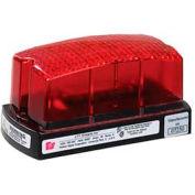 Federal Signal LP1-120R Strobe, 120VAC, Red