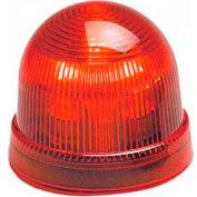 Federal Signal LP2-024R Steady Burn Light, 24VDC, Red