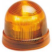 Federal Signal LP2-120A Steady Burn Light, 240VAC Amber
