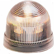 Federal Signal LP2-120C Steady Burn Light, 120VAC, Clear