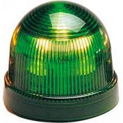 Federal Signal LP2-120G Steady Burn Light, 120VAC, Green