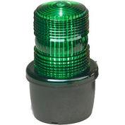 Federal Signal LP3E-120G Strobe light, Edison base, 120VAC, Green