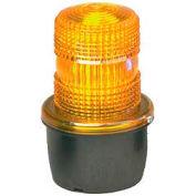 Federal Signal LP3M-120A Strobe light, male pipe mount, 120VAC, Amber