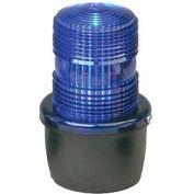 Federal Signal LP3M-120B Strobe light, male pipe mount, 120VAC, Blue