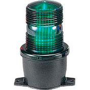 Federal Signal LP3P-120G Strobe, pipe mount, 120VAC, Green