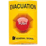 Push Station, Evacuation, Yellow