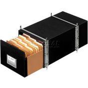 """Fellowes 00511 Staxonsteel®, Letter Box, 25-1/2""""L x 14""""W x 11-1/8""""H, Black - Pkg Qty 6"""