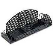 Fellowes® FEL22326 Perf-Ect Multi Desk Organizer,Metal/Wire,12 7/8 x 4 x 4 3/4,Black