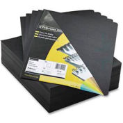 "Fellowes® Executive Presentation Covers, 8-3/4"" x 11-1/4"", Black, 200/Pk - Pkg Qty 2"