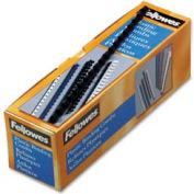 """Fellowes® Plastic Combs - Round Back, 5/16"""", 40 Sheets, Navy, 100/PK - Pkg Qty 30"""