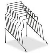 Fellowes®  Wire Step File®, 8 Sections, Black - Pkg Qty 4