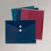 ViewFront Poly Envelope with Pocket, Assorted Colors, Letter Size, 4/Pack